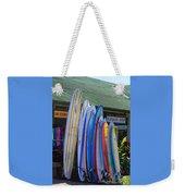 Surfboards At Hanalei Surf Weekender Tote Bag
