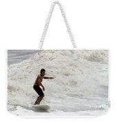 Surfer 0803b-2 Weekender Tote Bag