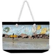 Surfer Beach 1034b Weekender Tote Bag