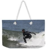 Surfer Hitting The Curl Weekender Tote Bag