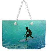 Surfer In The Zone Weekender Tote Bag