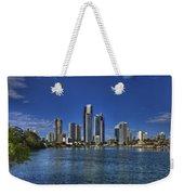 Surfers City Skyline Day Weekender Tote Bag