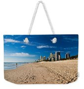 Surfers Paradise Beach By Day Weekender Tote Bag