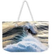 Surfing For Gold Weekender Tote Bag