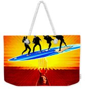 Surfing For Peace Weekender Tote Bag
