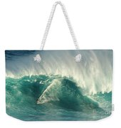 Surfing Jaws 2 Weekender Tote Bag