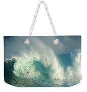 Surfing Jaws 3 Weekender Tote Bag