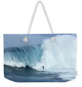 Surfing Jaws 4 Weekender Tote Bag