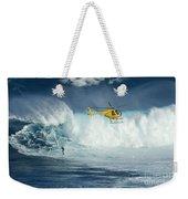 Surfing Jaws 6 Weekender Tote Bag