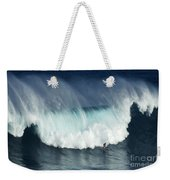 Surfing Jaws Running With Wolves Weekender Tote Bag