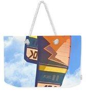 Surfing Kite Weekender Tote Bag