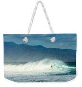 Surfing Light Weekender Tote Bag