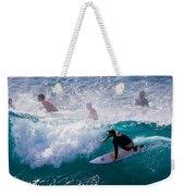 Surfing Maui Weekender Tote Bag