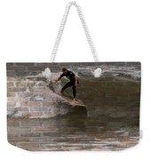 Surfing The Bricks Weekender Tote Bag