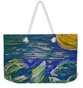 Surfing The Sun Weekender Tote Bag