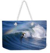 Surfing Under A Rainbow Weekender Tote Bag