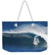 Surfing Waimea Bay Weekender Tote Bag