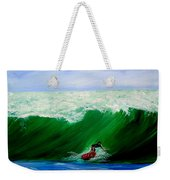 Surf's Up Surfing Wave Ocean Weekender Tote Bag