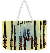 Surgical Instruments 16th Century Weekender Tote Bag