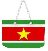 Suriname Flag Weekender Tote Bag