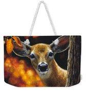 Whitetail Deer - Surprise Weekender Tote Bag