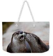 Surprise Kiss Weekender Tote Bag