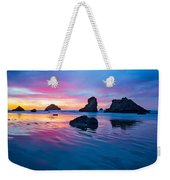 Surprise Sunset Weekender Tote Bag