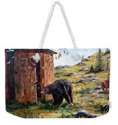 Surprise Visit Weekender Tote Bag