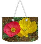 Surprised Poppies Weekender Tote Bag