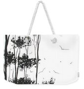 Surreal Abstract Landscape Art Painting By Madart Weekender Tote Bag