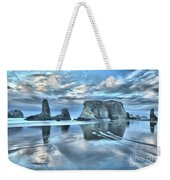 Surreal Beach Swirls Weekender Tote Bag