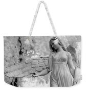 Surreal Dreamy Fantasy Infrared Angel Nature Weekender Tote Bag