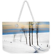 Surreal Snowscape Weekender Tote Bag