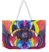 Surrender Weekender Tote Bag by Teal Eye  Print Store