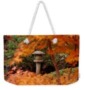 Surrounded By Fall Weekender Tote Bag