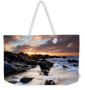 Surrounded By The Tides Weekender Tote Bag