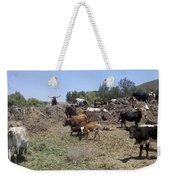 Surveying His Herd Weekender Tote Bag