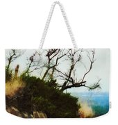 Surviving On The Cliff Top  Weekender Tote Bag