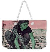 Surviving The Fallout Weekender Tote Bag by Absinthe Art By Michelle LeAnn Scott