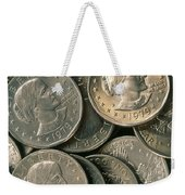 Susan B. Anthony Dollar Weekender Tote Bag