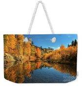 Susan River 11-3-12 Weekender Tote Bag