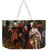 Susannah And The Elders Weekender Tote Bag