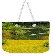 Susans Gold Pond Weekender Tote Bag