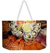 Sushi Tray Weekender Tote Bag