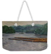 Susquehanna River At Saginaw Pa Weekender Tote Bag