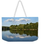 Susquehanna River Weekender Tote Bag by Christina Rollo