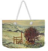 Sussex Stile, Winter, 1996 Weekender Tote Bag