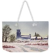 Suzan's Church Painting  Weekender Tote Bag
