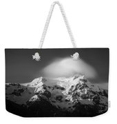 Svinafell Mountains Weekender Tote Bag by Dave Bowman