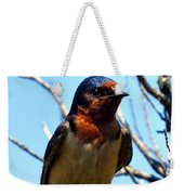 Swallow Glance Weekender Tote Bag